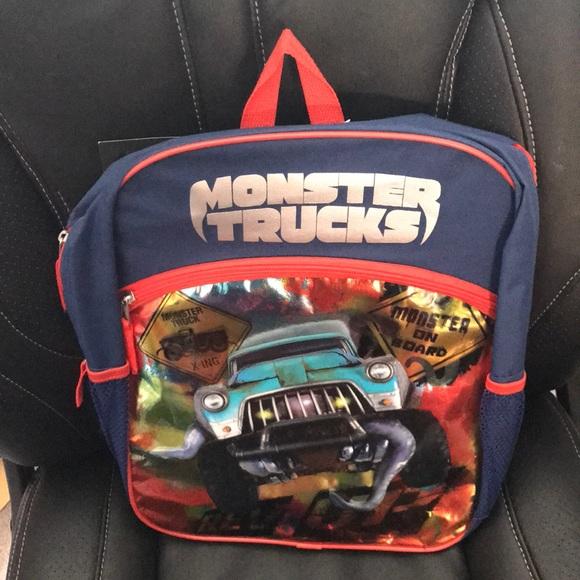 Other Monster Trucks Movie Backpack Book Bag Poshmark
